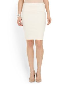 image of Tummy Control Pencil Skirt