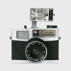 """""""In Spring 2007, Lomography acquired the incredible Detrich collection of Diana cameras and its clones from the 60's and 70's.""""  - Lomography"""