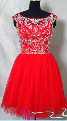 Red Homecoming Dresses,Short Homecoming Dress,Backless Homecoming Dresses,2016 Homecoming Gowns,Custom Made New Style A-line Scoop Sleeveless Back V Short Red Prom Dresses ,Short Party Dresses,Short Evening Dresses,Formal Dress CBD2011