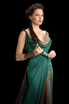 Lucy Lawless dans Spartacus