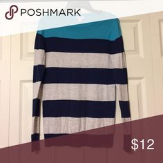 Old Navy color block sweater Light weight. Great condition! Old Navy Tops