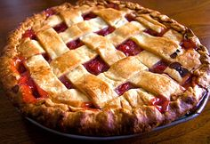 Home made cherry pie Sweet Pie, Recipies, Deserts, Cherry, Homemade, Nails, Food, Recipes, Finger Nails