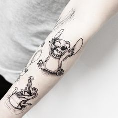 Image result for disney line work tattoo