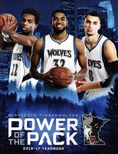 Wiggins, Towns & Lavine Minnesota Timberwolves Power Of The Pack Karl Anthony Towns, Jordan 10, Minnesota Timberwolves, Nba Basketball, Athlete, Tank Man, Wolf, Icons, Sport