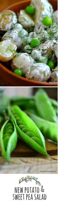 A fresh take on potato salad!