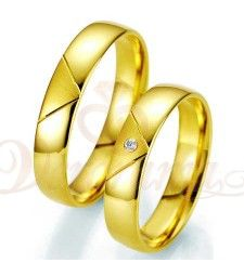 custom handmade Comfort Fit Titanium fantasy wedding Couple rings with gold plating layer Cool Wedding Rings, Matching Wedding Bands, Gold Promise Rings, Gold Rings, Alliance Duo, Smart Ring, 14 Carat, Fantasy Wedding, Couple Rings