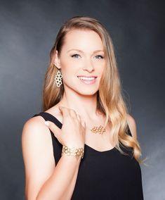Gold Jewelry Set, Jewelry Set, Geometric Jewelry, #jewelry @EtsyMktgTool http://etsy.me/2zOO6CE #goldjewelryset #jewelryset