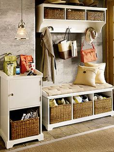 Samantha Entryway Bench and Shelf