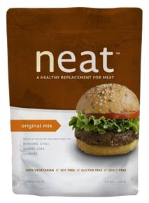 neat Original Mix - shelf stable, pecan based ground beef replacement