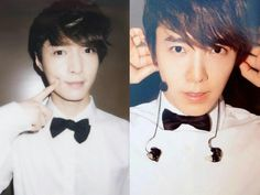 Lay and donghae.