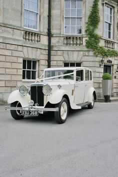 I'm having a car similar to this to take me to the church. So exciting. #TheSecretWedding