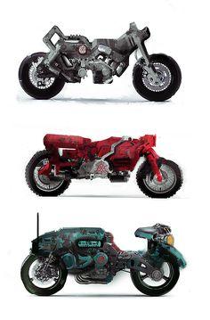 motos sketch by gamka on DeviantArt Monster Motorcycle, Motorcycle Art, Custom Motorcycles, Cars And Motorcycles, Davinci Art, Futuristic Motorcycle, Cyberpunk Art, Dieselpunk, Art Cars