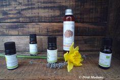 Ingrédients huile de massage tueuse de cellulite