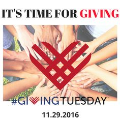 Save the Date - Giving Tuesday is just right around the corner!