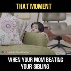 Uff those moment are scary! 😂 In your heart you think what if you also naughty and you next! Sister Quotes Funny, Brother Sister Quotes, Funny Mom Memes, Funny School Jokes, Sarcastic Quotes, Funny Facts, Mom Humor, Hilarious, Top Memes