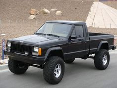 Lifted Jeep Comanche | Barrett-Jackson Lot #357 - 1990 JEEP COMANCHE CUSTOM PICKUP