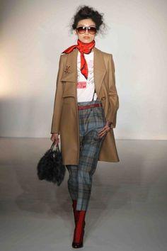 Tartan cigarette trousers from Vivienne Westwood
