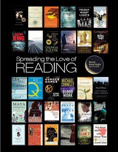 World Book Night America titles 2012. ALL fabulous reads