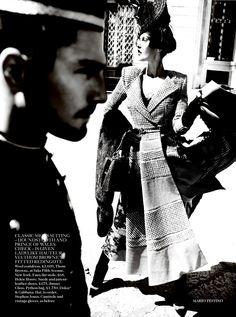 ☆ Catherine McNeil | Photography by Mario Testino | For Vogue Magazine UK | September 2013 ☆ #catherinemcneil #mariotestino #vogue #2013
