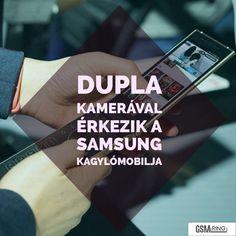 Újabb dupla kamerás Samsung csúcsmobil jöhet az év végén! #samsung #w2019 #samsungmobile Samsung, Fitbit, Tech, Technology