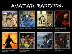 Avatar Fangirl by ~iSk8er95 on deviantART. The very true and sad story of my life.