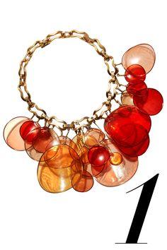 Louis Vuitton necklace, price upon request,866-VUITTON.   - HarpersBAZAAR.com