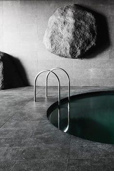20 Amazing Indoor Swimming Pools Design Ideas With Luxurious Looks - When a lot of us consider summer and hot days, the initial thing that comes to mind is a swimming pool. A pool provides relief from hot summer days an. Indoor Swimming Pools, Swimming Pool Designs, Spa Design, Home Design, Design Ideas, Interior Design, Spas, Ceiling Murals, Minimalist Home Interior