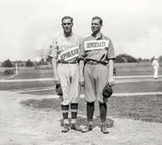 """Washington, D.C. """"Congressional ballgame, 1918."""" If the baseball equivalent of a filibuster is the no-hitter, their fans went home disappointed."""