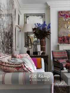 A Living Space by Kit Kemp    Inside the world of Firmdale Hotel group owners, Tim and Kit Kemp