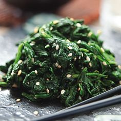 Sesame-Seasoned Spinach | EatingWell Magazine