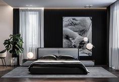 Crazy dark bedroom furniture decorating ideas only in smart homefi design Modern Bedroom Design, Bed Design, Modern Interior Design, Bedroom Designs, Teen Bedroom Furniture, Home Decor Bedroom, Bedroom Ideas, Modern Furniture, Cozy Bedroom