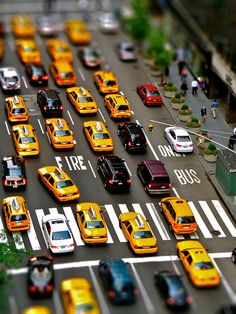 Looks like toys. Taxis, New York, United States