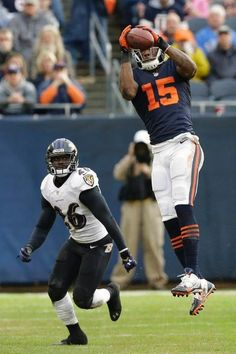 Bears Football Brandon Marshall