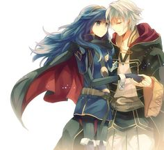 Fire Emblem Awakening - Lucina and Robin