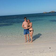 Rottnest island western australia. A little taste of paradise!  #westernaustralia #rottnestisland  #familyholiday #sun #sea #sand #familytime #relax #happy #me #blonde #blueeyes #potd #boyfriend #lovehim #bliss #nofilter #lookatthatwater #itsperfect by babalicious_1982 http://ift.tt/1L5GqLp