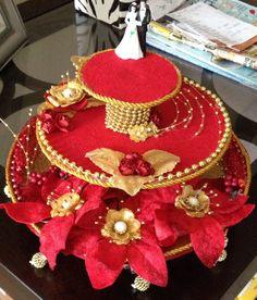 Engagement/wedding ring platter