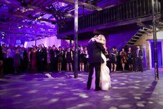 Wedding First Dance - Fermenting Cellar Toronto.  Photo by Ikonica.
