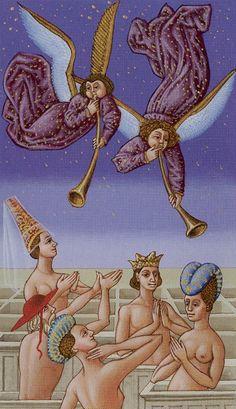 XX. Judgement: Medieval Tarot
