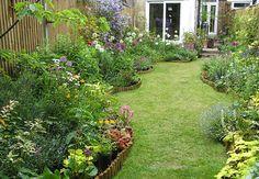 More Than Gardens Hillside Garden, Backyard Garden Design, Terrace Garden, Backyard Projects, Garden Oasis, Garden Fun, Dream Garden, Garden Ideas, Victorian Terrace House