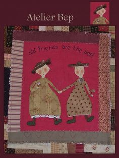 Old Friends made by Bep