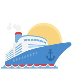 free cruise ship clip art image clip art illustration of a cruise rh pinterest com clip art ship flag clip art shipwrecked