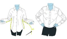 Tailoring clothes for a better fit.