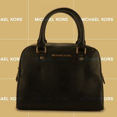 Michael Kors Reese Large Black Satchels Is Everyone's Desire, And You Can Take One.