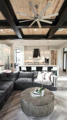 Dream Home Design, Modern House Design, My Dream Home, Home Interior Design, Modern Home Interior, Dream House Interior, Villa Design, Room Interior, Home Living Room