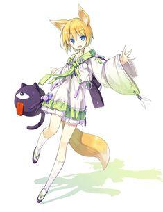 shiratama kitsune, original