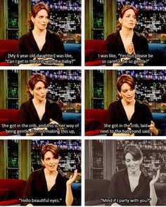 Spawn of Tina Fey are nearly as great as Tina Fey