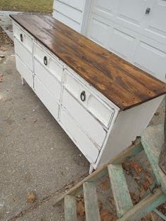 Dresser redo - console top