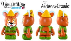 Animatio Series 3 Robin Hood Disney Vinylmation