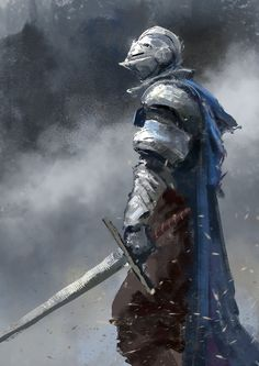 Knight Speedpaint, Conor Burke on ArtStation at https://www.artstation.com/artwork/knight-speedpaint