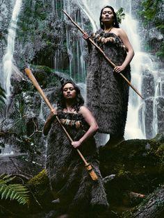 "Maori women in Jimmy Nelson's ""Before they passed away"""